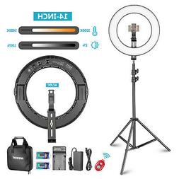 """Neewer Photo Studio 14"""" Outer Dimmable Bi-color SMD LED Ring"""