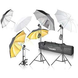 Emart Photography Umbrella Lighting Kit, 1575W 5500K Photo V