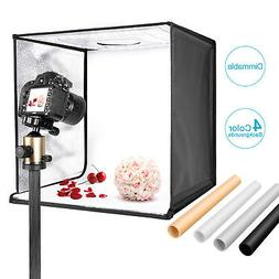 "Neewer Photo Studio Light Box 20"" Shooting Light Tent Kit wi"