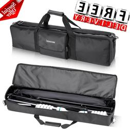 Photo Studio Lighting Kit Carry Bag Photography Equipment Ca