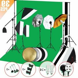 Photo Studio Photography Kit 14/ 5 Light Bulb Umbrella Musli