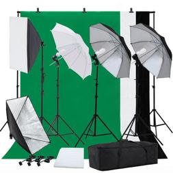 Photo Video Studio Photography Continuous Lighting Kit Musli