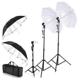 Photo Video Portrait Studio Setup Lighting Kit Vlog Youtube