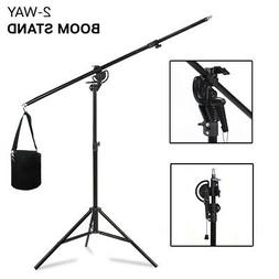 Photography Light Stand Kit with Boom Arm and Sandbag For St