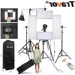 Photography Lighting Kit, 1236/1224 inches 5500K 12700LM 4 d