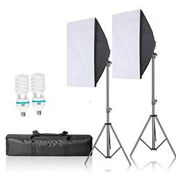 """Selens 1200W Professional Photography Lighting Kit with 20""""x"""