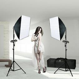 Photography Softbox Continuous Photo Video Lighting Kit Phot