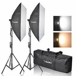 Emart Photography Softbox Lighting Kit, Photo Equipment Stud