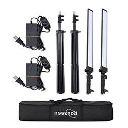 Dimmable LED Video Handheld Lights Photography Studio Contin