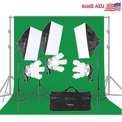 Andoer Photography Studio Light Lighting Tent Kit Photo Equi