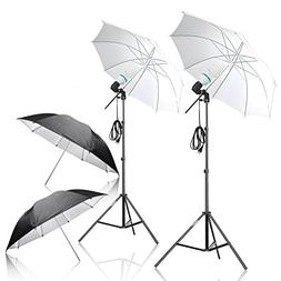 Emart Photography Umbrella Lighting Kit, 1000W 5500K Photo P
