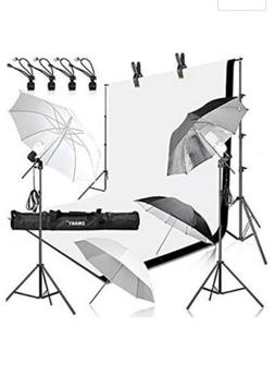 Emart Photography Umbrellas Continuous Lighting Kit, 450W 55