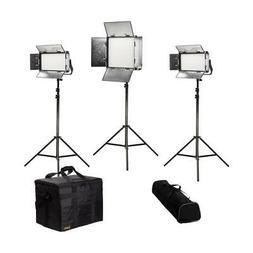 Ikan Rayden Daylight 3-Point LED Light Kit with 1x RW10 and