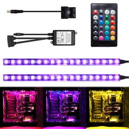 RGB LED Strip Light Kit for PC Case Remote Control Computer