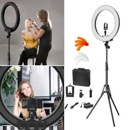 "Ring Light Kit:18""/ 48cm Outer 55W 5500K Dimmable LED Ring L"