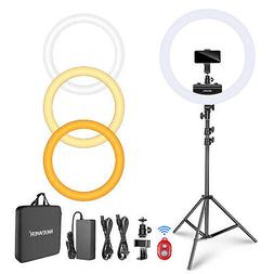 Neewer Ring Light Kit Dimmable LED Ring Light with Light Sta