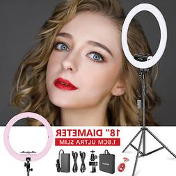 Neewer Ring Light Kit w/ Light Stand,Rotatable Phone Clip,Ho