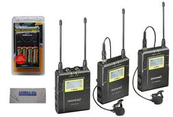 Saramonic UwMic9 Dual Channel UHF Wireless Lavalier Micropho