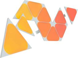 shapes mini triangles multicolor light panel expansion