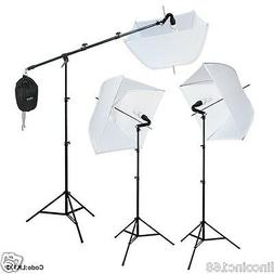 Studio Photography Photo Equipment White Softbox Umbrella Bo
