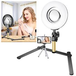 Neewer Tabletop Makeup 8-inch Dimmable Mini LED Ring Light K
