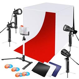 Neewer 24x24 inches Tabletop Photography Lightbox Light Tent