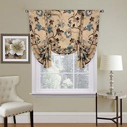H.VERSAILTEX Thermal Insulated Blackout Window Drapes Adjust