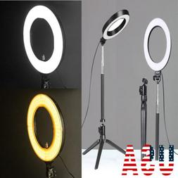 US New 18-inch Outer Dimmable SMD LED Ring Light Lighting Ki