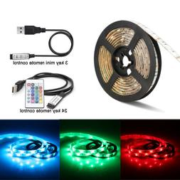 USB 5V LED Strip Light TV backlight 5050 RGB Mood Light Colo