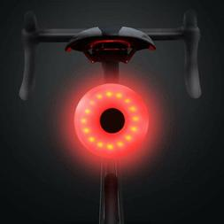 USB LED Bike Rear Kit Tail Light Rechargeable Bicycle Helmet