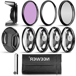 Neewer Professional UV CPL FLD Lens Filter and Close-up  Acc