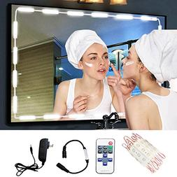 Make-up Vanity Mirror Light,60 Leds 9.8Ft Bathroom Vanity Li