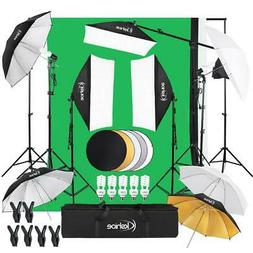 Video Photo Studio Photography Continuous Lighting Kit3 Back