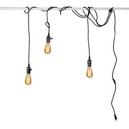 Judy Lighting - Vintage Pendant Light Kit Plug in Hanging Li