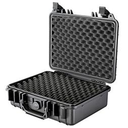 Neewer 13x10x6/33x25x15cm Waterproof Carrying Case with Cube