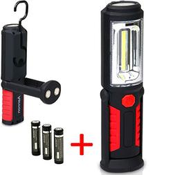LED Work Light Flashlight for Home, Auto, Camping, Emergency